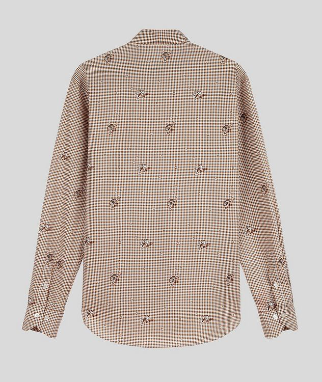 Contemporary-Fit Printed Cotton Shirt picture 2