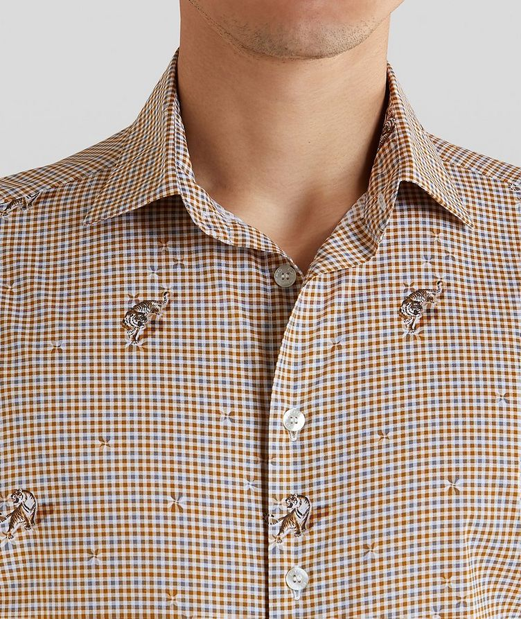 Contemporary-Fit Printed Cotton Shirt image 4