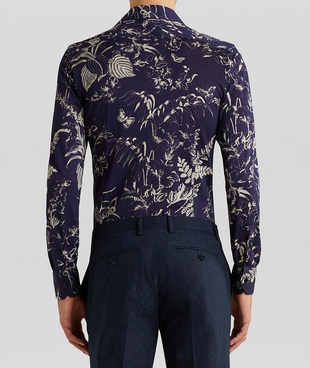 Contemporary-Fit Botanical Cotton Shirt picture 4