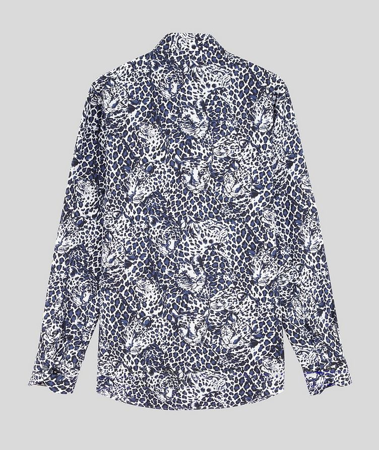 Contemporary-Fit Leopard Cotton Shirt image 1