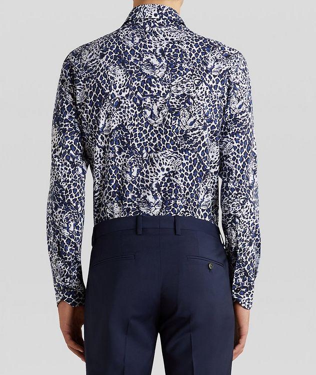 Contemporary-Fit Leopard Cotton Shirt picture 4