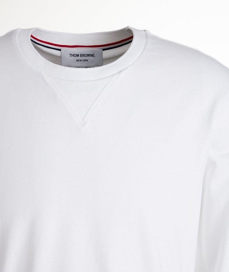 Jersey Cotton Sweater image 1