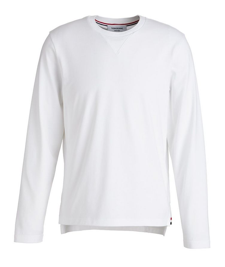 Jersey Cotton Sweater image 0