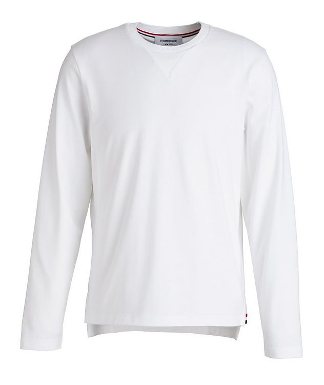 Jersey Cotton Sweater picture 1