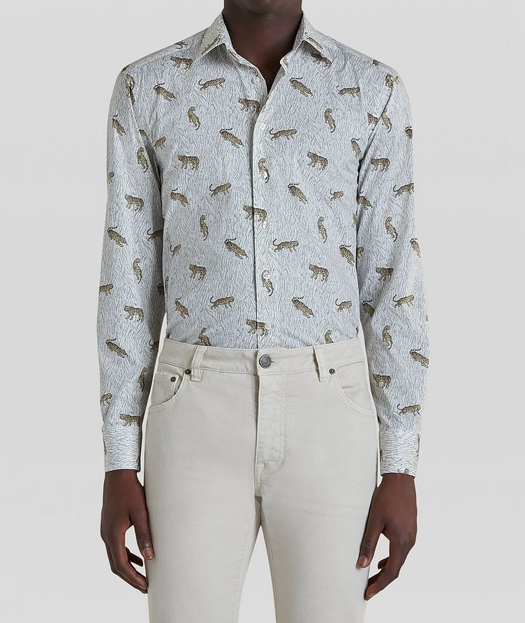 Contemporary-Fit Printed Cotton Shirt image 2