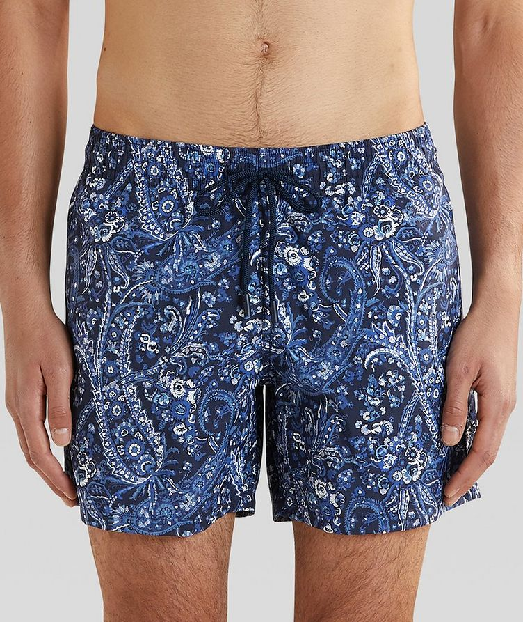 Paisley Swim Trunks image 0