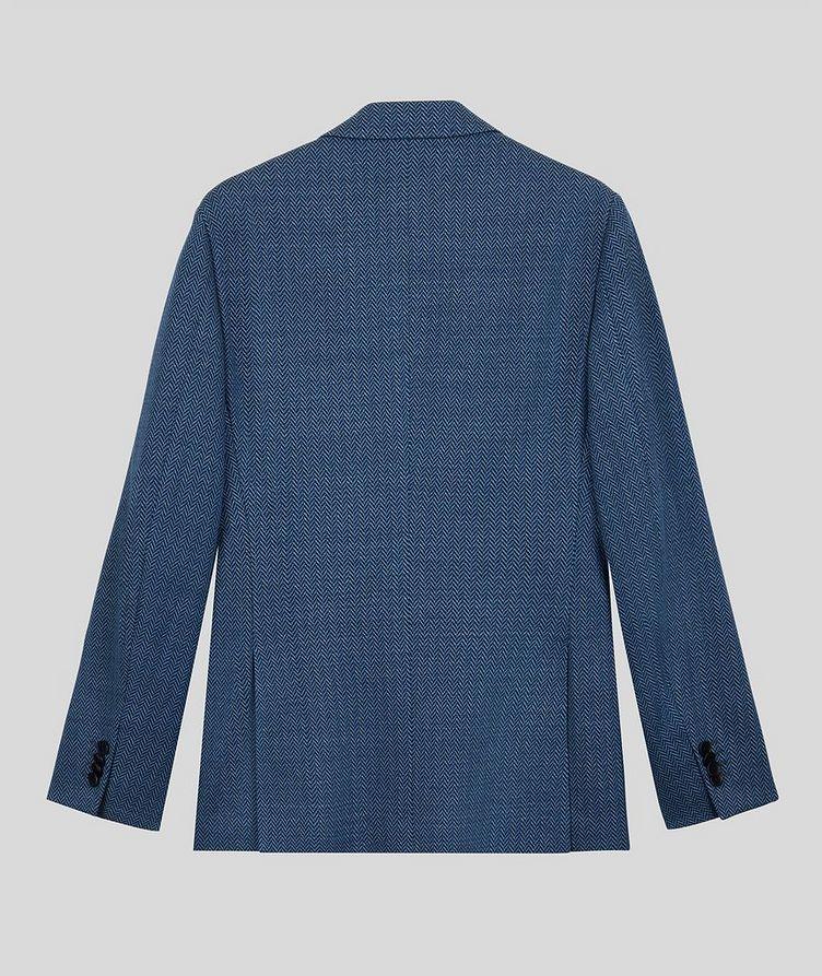 Silk-Lined Linen Blend Sports Jacket image 1