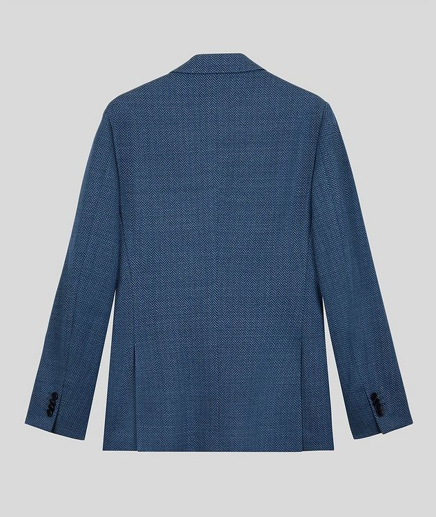 Silk-Lined Linen Blend Sports Jacket picture 2