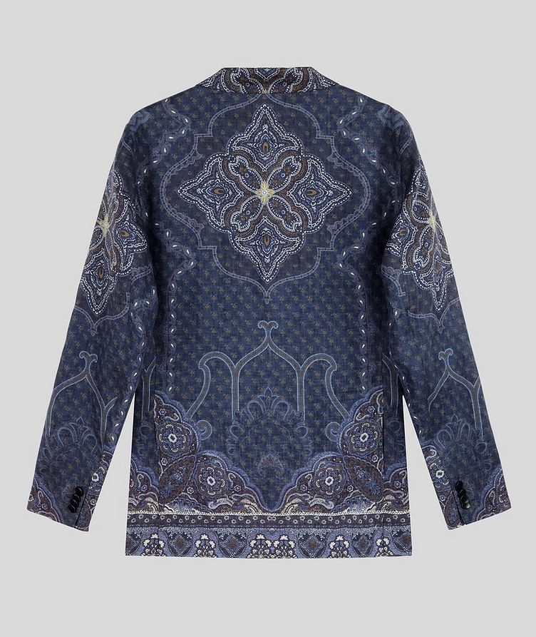 Paisley Print Linen Sports Jacket image 1