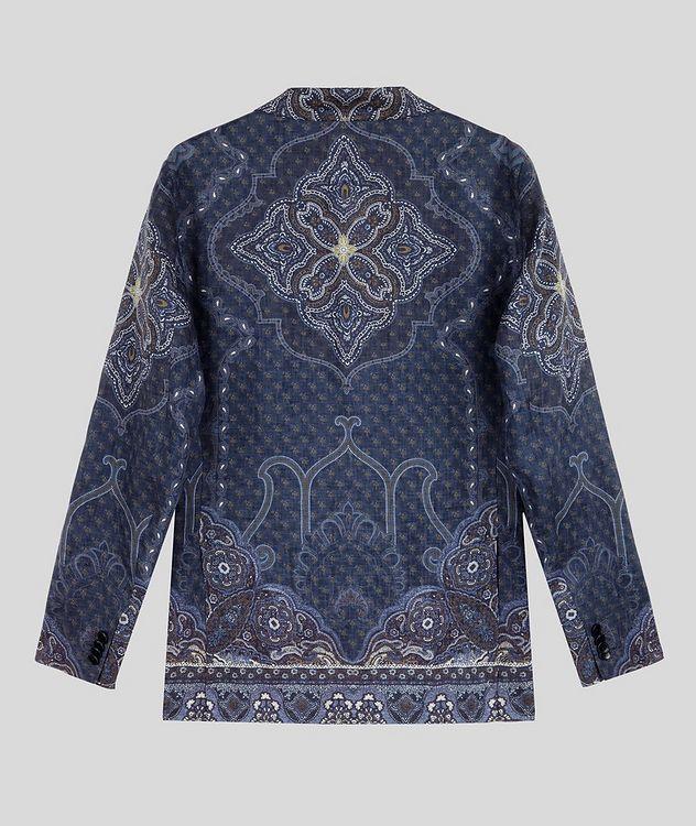 Paisley Print Linen Sports Jacket picture 2