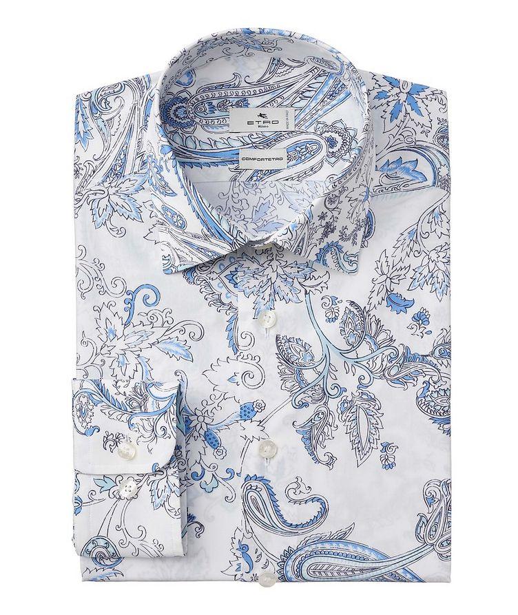 Comfortetro Paisley Stretch-Cotton Shirt image 0