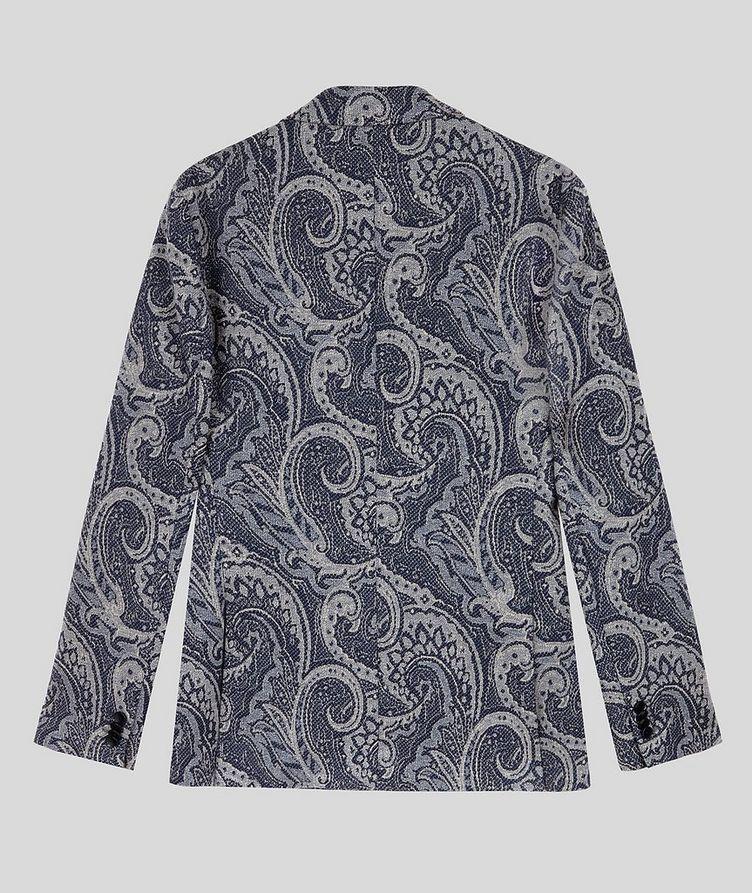 Paisley Jersey-Jacquard Sports Jacket image 1