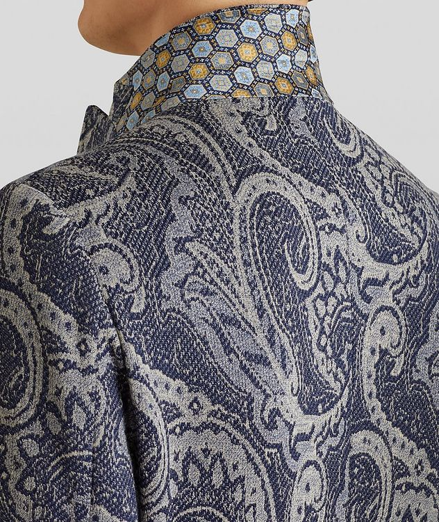 Paisley Jersey-Jacquard Sports Jacket picture 5