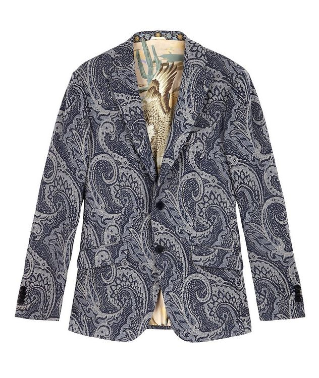 Paisley Jersey-Jacquard Sports Jacket picture 1