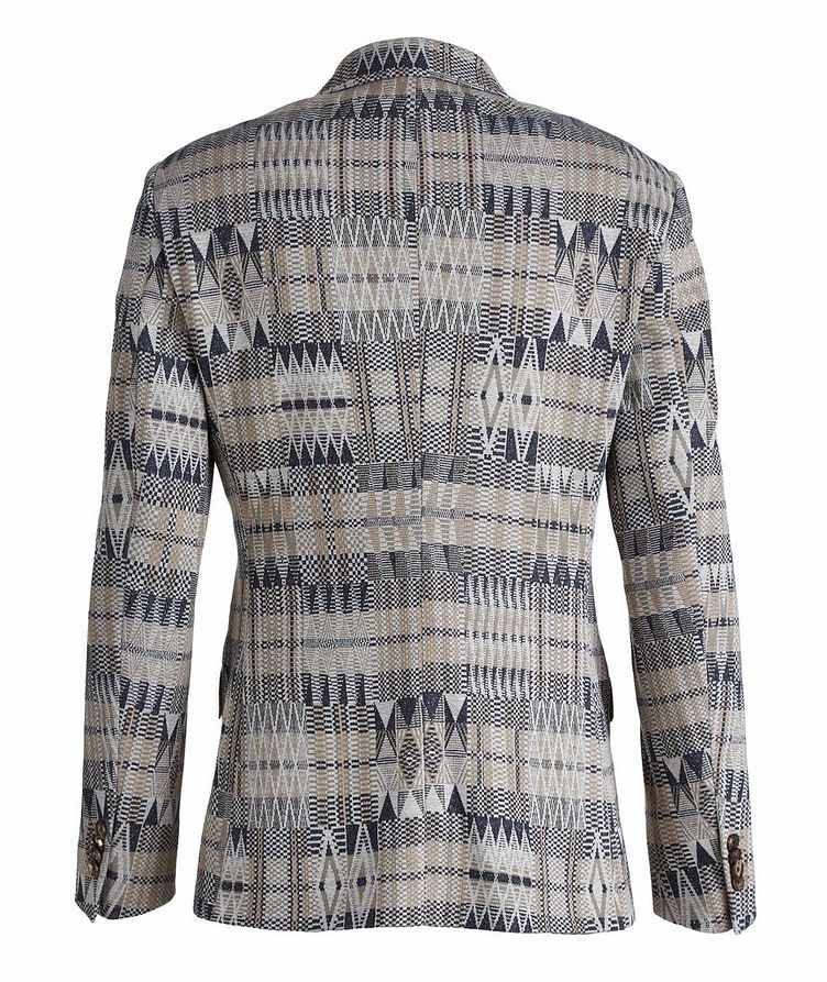 Ikat Linen-Cotton-Silk Sport Jacket image 1