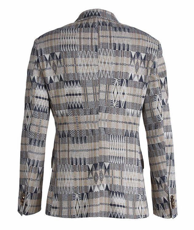 Ikat Linen-Cotton-Silk Sport Jacket picture 2