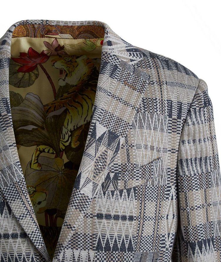 Ikat Linen-Cotton-Silk Sport Jacket image 2