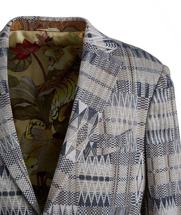 Ikat Linen-Cotton-Silk Sport Jacket picture 3