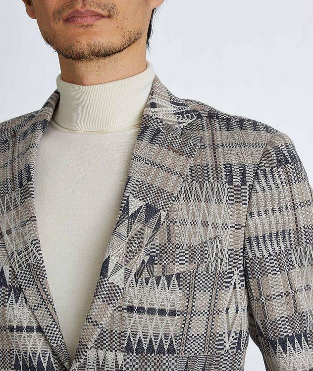 Ikat Linen-Cotton-Silk Sport Jacket picture 6