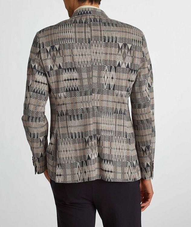 Ikat Linen-Cotton-Silk Sport Jacket picture 7