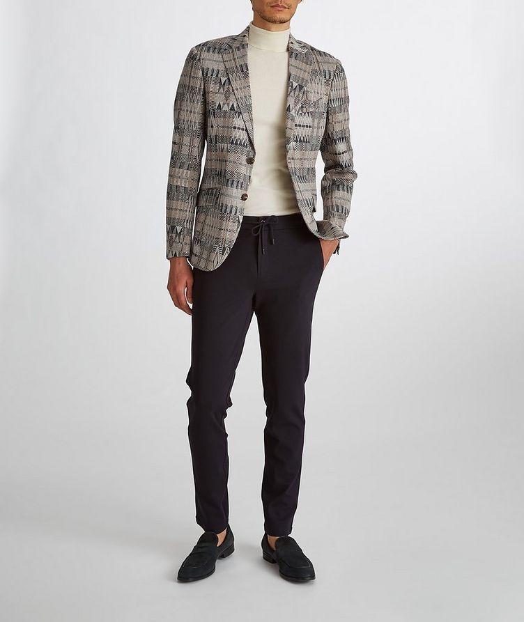 Ikat Linen-Cotton-Silk Sport Jacket image 7