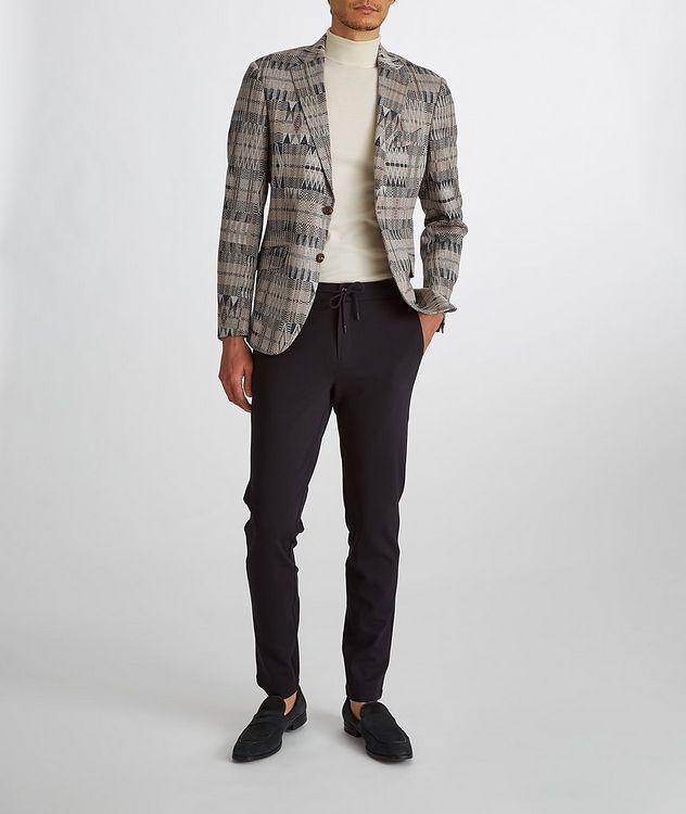 Ikat Linen-Cotton-Silk Sport Jacket picture 8