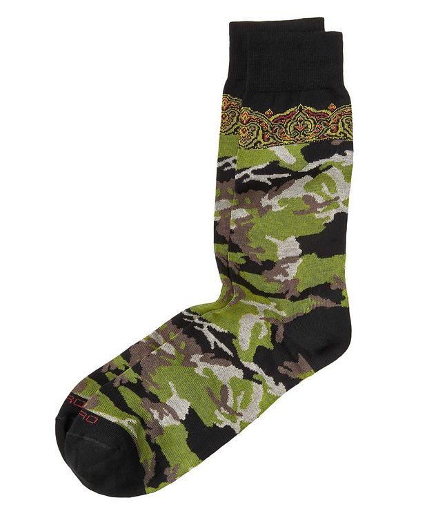 Camo-Printed Socks picture 1