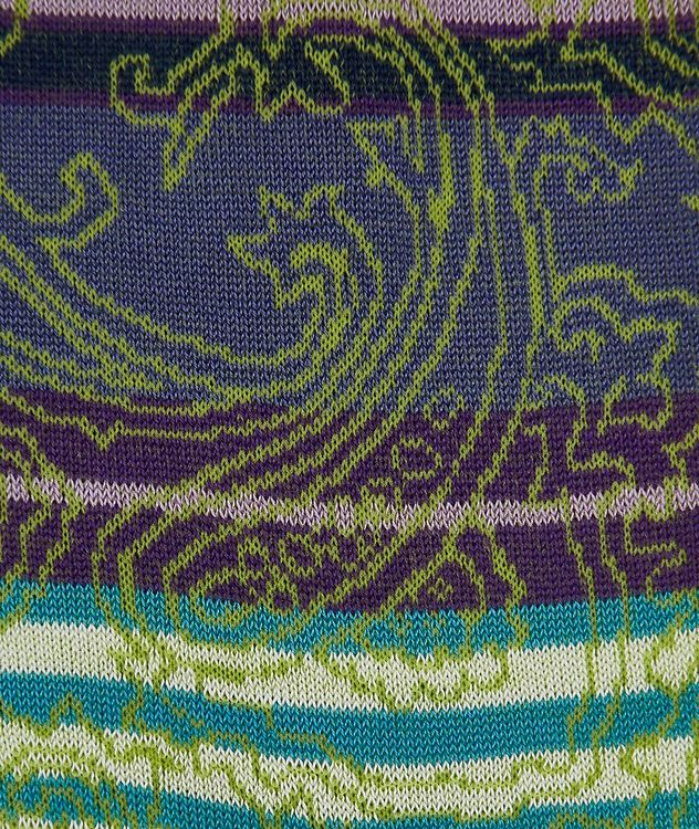 Striped Paisley Socks picture 2