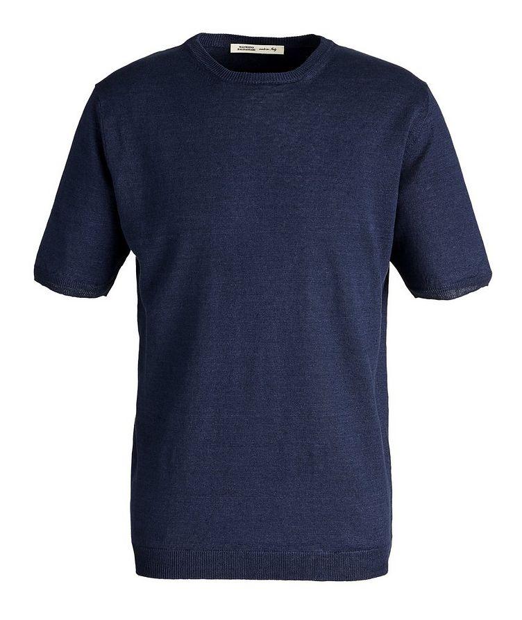Knit Linen T-Shirt image 0