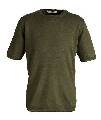 Maurizio Baldassari T-shirt en lin