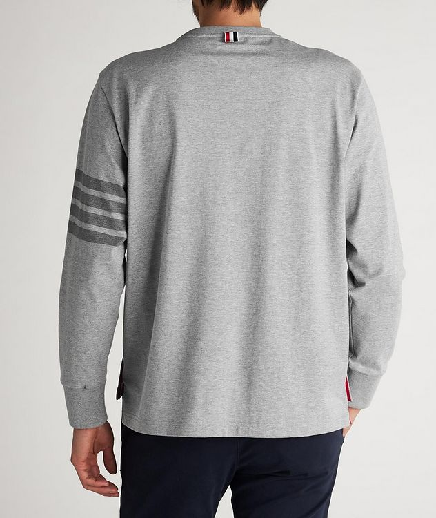 Long-Sleeve Cotton T-Shirt picture 4