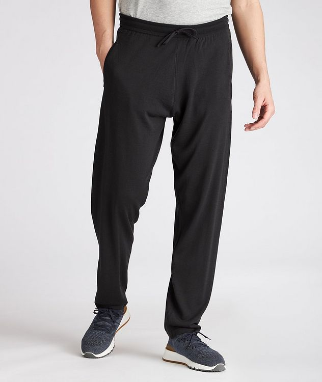 Knit Virgin Wool Joggers picture 2