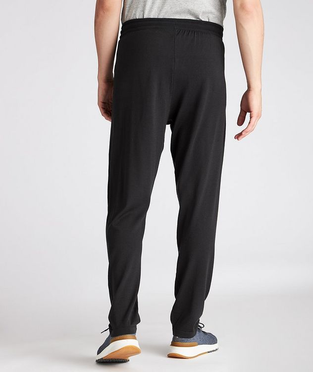 Knit Virgin Wool Joggers picture 3
