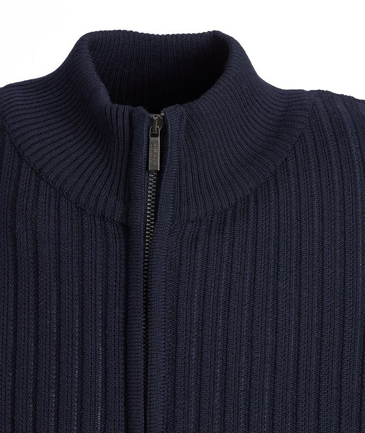 Brera Wool Zip-Up Cardigan image 2