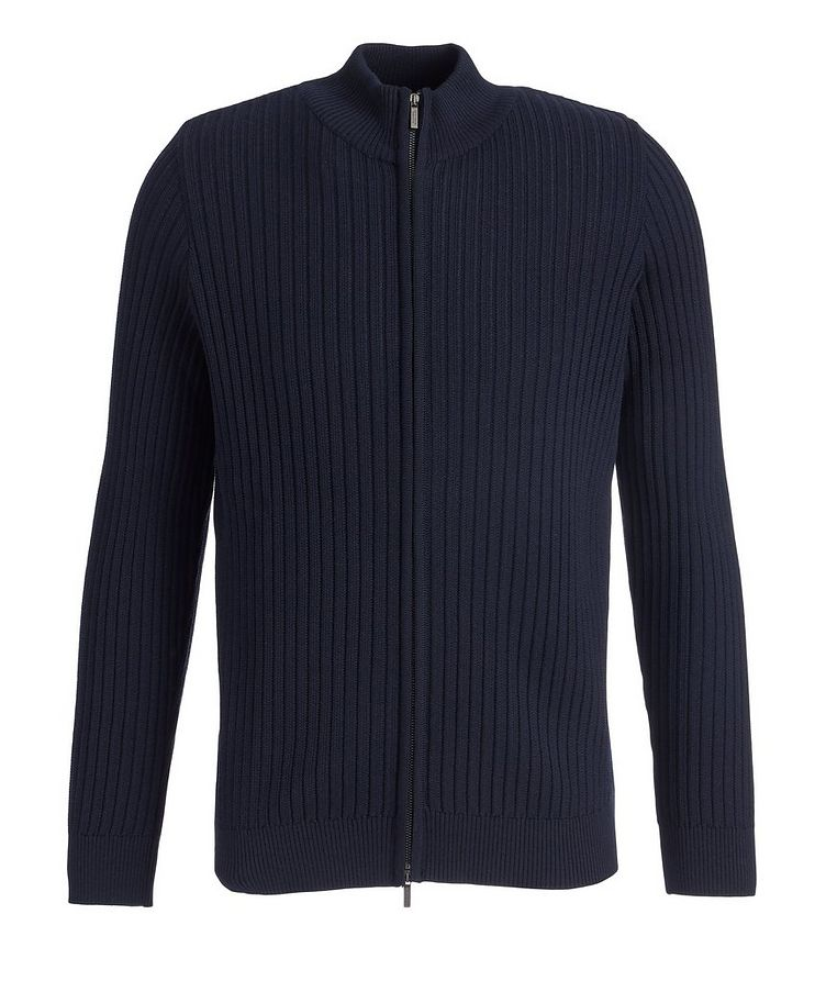 Brera Wool Zip-Up Cardigan image 0