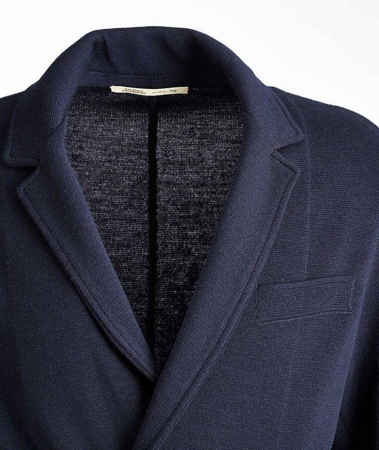 Knit Wool Cardigan Jacket image 2