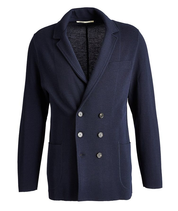 Knit Wool Cardigan Jacket image 0