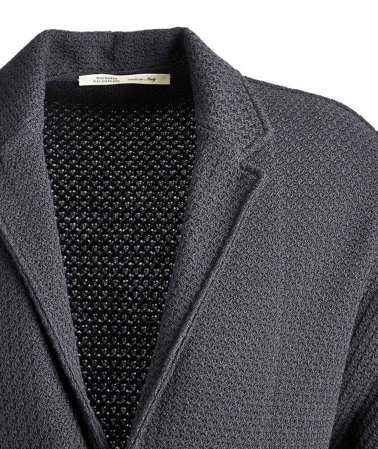 Virgin Wool Cardigan Jacket image 2