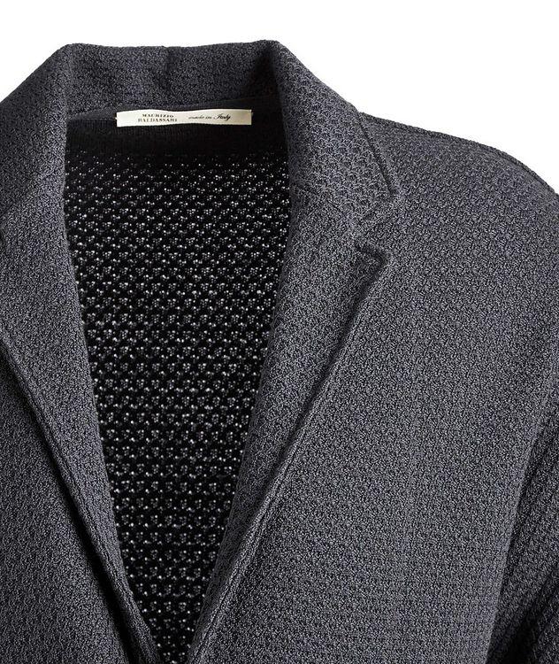 Virgin Wool Cardigan Jacket picture 3