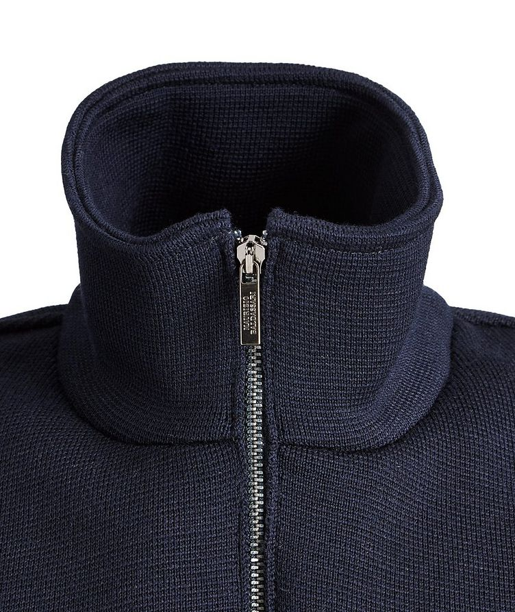 Tech-Merino Wool Zip-Up Vest image 1