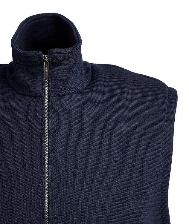 Tech-Merino Wool Zip-Up Vest picture 3