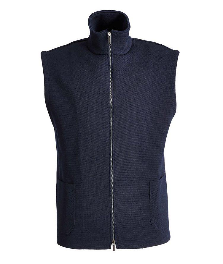 Tech-Merino Wool Zip-Up Vest image 0