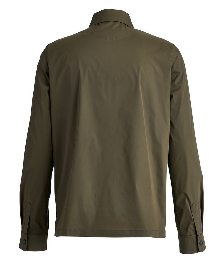 Stretch-Nylon Overshirt image 1