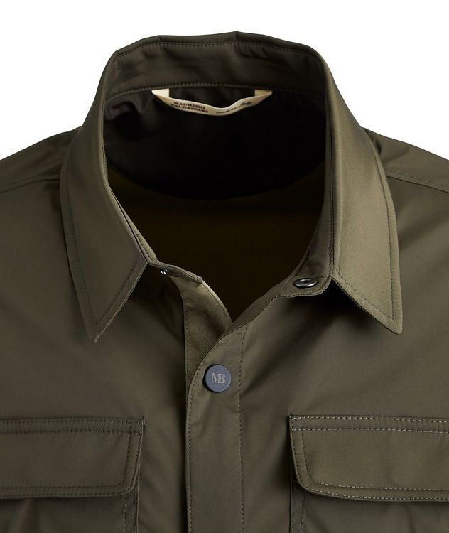 Stretch-Nylon Overshirt picture 3