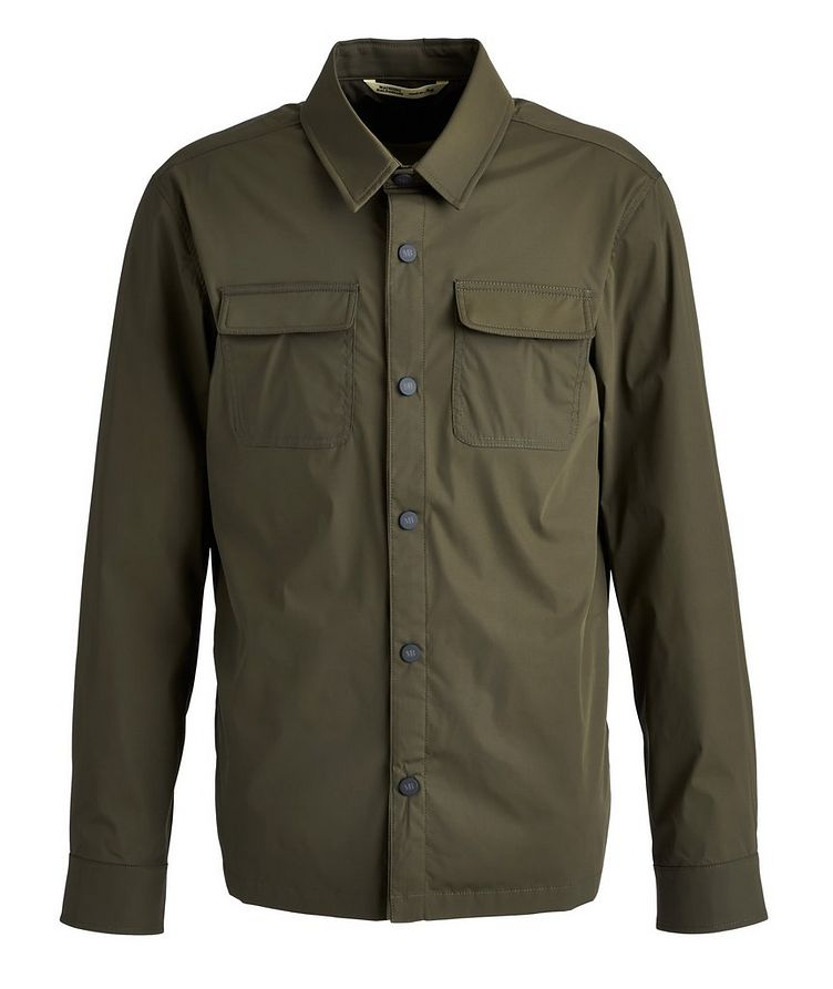 Stretch-Nylon Overshirt image 0