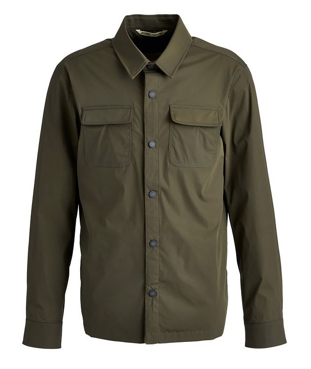 Stretch-Nylon Overshirt picture 1
