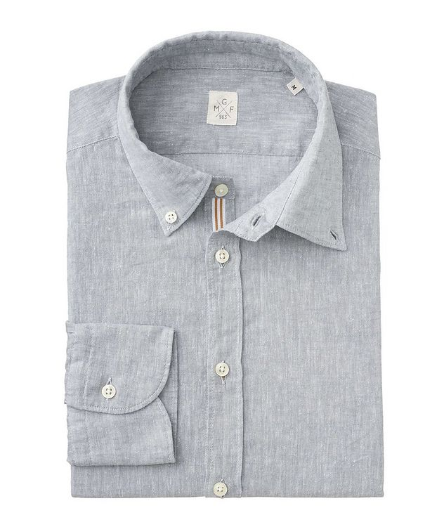 Chambray Linen-Cotton Shirt picture 2