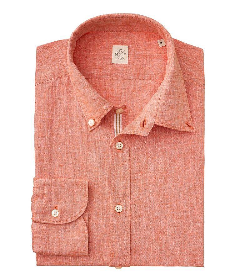Chambray Linen-Cotton Shirt image 1