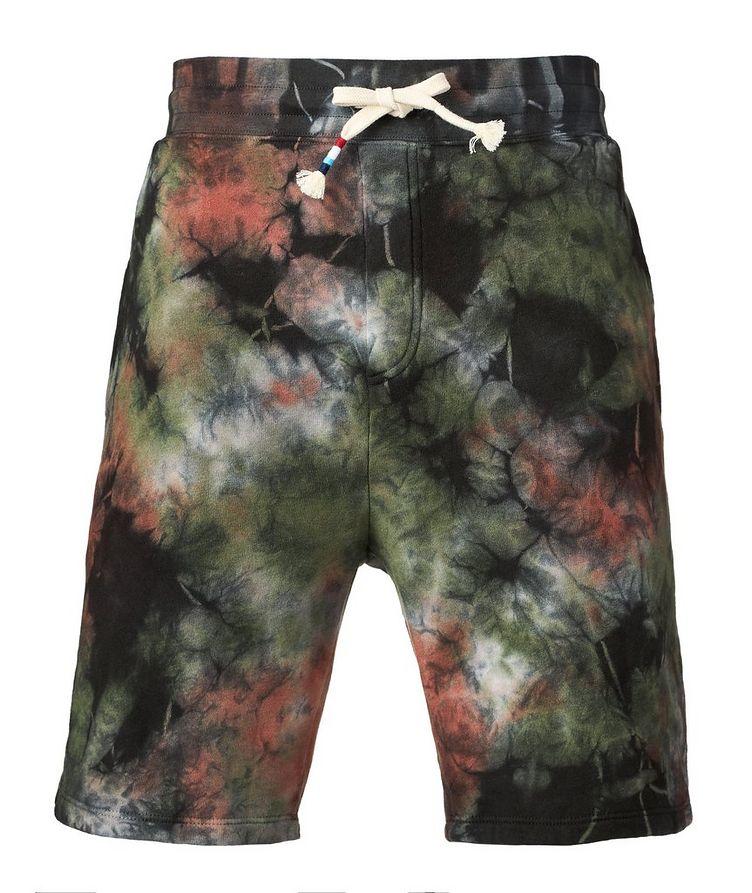 Tie-dye Cotton Blend Shorts image 0