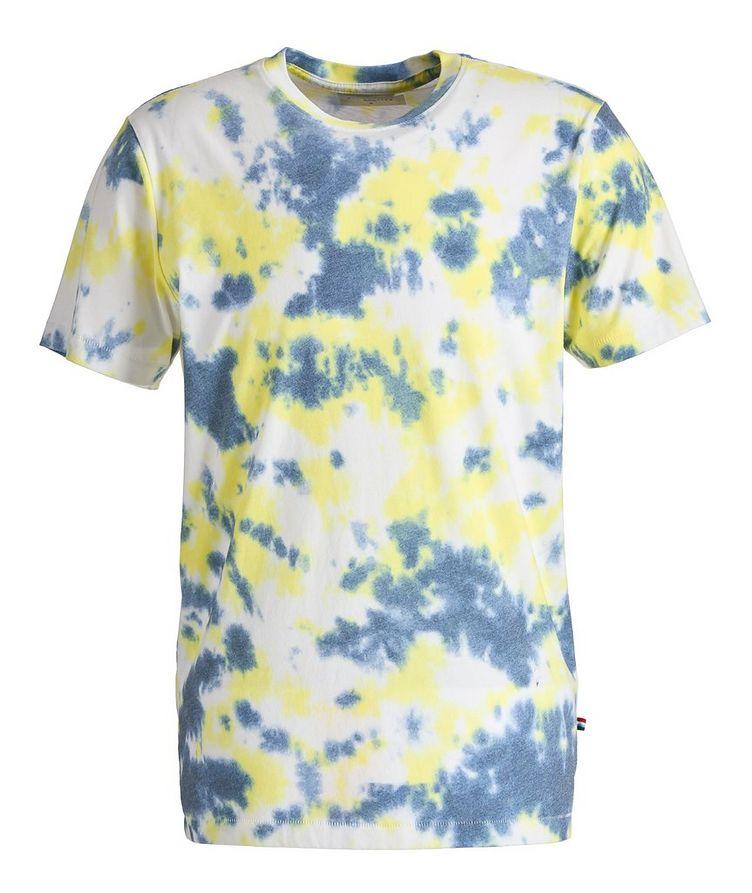 Marble Cotton-Blend T-Shirt image 0